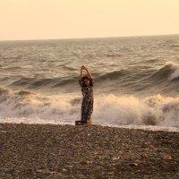 Общение с морем :: valeriy khlopunov