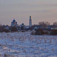 Закат над Рогачёво. :: Ирина Нафаня