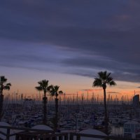 закат в Барселоне :: Olga Kudryashova