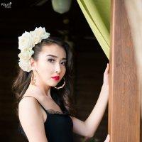 Белая роза :: Элеонора Флаум