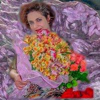 С чудесным женским праздником Красоты, Весны и Любви!!! :: Юлия Бабитко