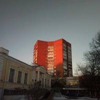 Дом на закате :: Николай Филоненко