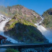 Водопад Лотефосс.Норвегия. :: Наталья Иванова