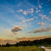 Небо в облаках :: Виктор Баштовой