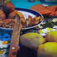 Дачный ужин ... :: Рома Григорьев