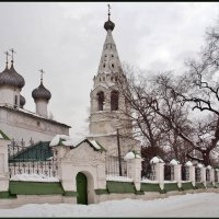 церковь Святого Апостола Иоанна Богослова (1687 г). :: Олег