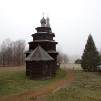Новгород музей деревянного зодчества. Ноябрь 2015 года :: Алексей Корнеев