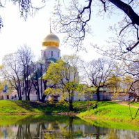 Фёдоровский собор весной :: Сергей