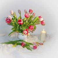 """""""....Я окунаюсь в сон очарований, Когда мне дарят нежные тюльпаны..."""" :: Galina Dzubina"""