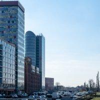 Архитектура в районе порта Дюссельдорф :: Witalij Loewin