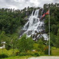 Водопад Твиндефоссен. Норвегия. :: Наталья Иванова