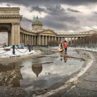 Зимний Казанский собор :: Юлия Батурина