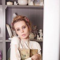 Фотосессия в цветочном бутике :: Денис Обухов