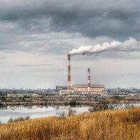 Дым в облаках :: Милешкин Владимир Алексеевич