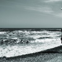Только с морем можно разделить личное пространство.... :: Людмила