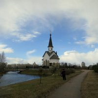 Церковь Георгия Победоносца на Средней Рогатке . :: Валентина Жукова