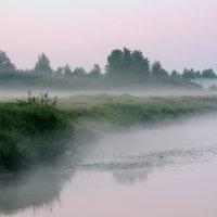 Утренний туман.Лето.Тверца. :: Павлова Татьяна Павлова