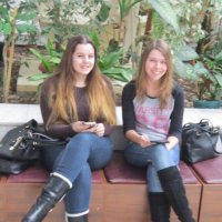 Соня и Настя :: Дмитрий Никитин