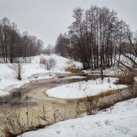 Туман над рекой 2 :: Андрей Дворников