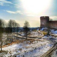 Вид с Крепостной стены :: Милешкин Владимир Алексеевич