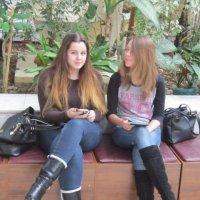 Две подружки-однокурсницы :: Дмитрий Никитин