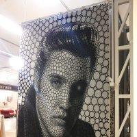 Ковер с изображением Элвиса Пресли :: Владимир Прокофьев