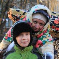 На масленичном празднике :: Наталья Лунева