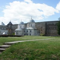 Ивангородская крепость :: Елена Павлова (Смолова)