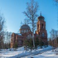 храм на горе :: Сергей Цветков