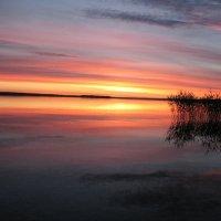вечер на озере :: геннадий щербак