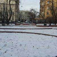 Сквер в Москве посвященный книге Венедикта Ерофеева  «Москва́ — Петушки́» :: Владимир Прокофьев