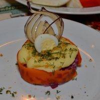 Блюдо в ресторане :: Сергей Тагиров