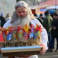 ах,масленица,мастер кукольник :: Олег Лукьянов