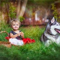 красная шапочка и серый волк :: Liza Hakimi