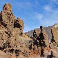Тейде — вулкан на о. Тенерифе, самая высокая точка Испании :: Елена Павлова (Смолова)