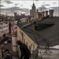 Весна... март... прогулки по крышам :: Наталья Rosenwasser