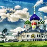 .Храм свято́го благове́рного кня́зя И́горя Черни́говского. г. Москва. :: Маry ...