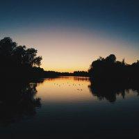Вечер в парке :: Дарья Гречина