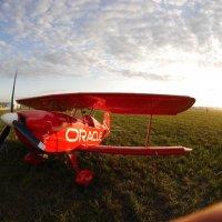 Биплан.Возможно самый маленький пилотажный , самодельный.. :: Alexey YakovLev
