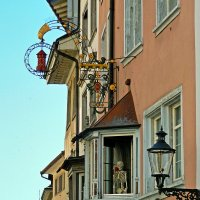 балконы и эркеры :: Александр Корчемный