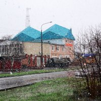 Мартовский снег :: Владимир Болдырев