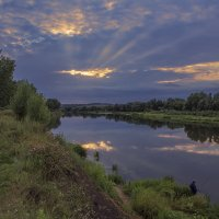Тихий летний вечер на Дону :: Юрий Клишин