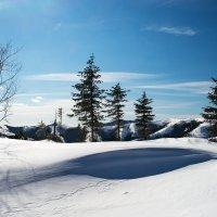 Зимнитй день в горах. :: Поток