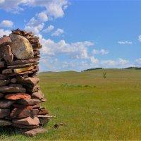 В степях Хакасии :: Сергей Чиняев