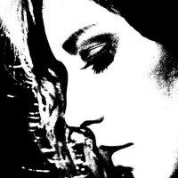 Графический портрет в профиль :: Александр Амеличкин
