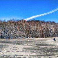 Опасная рыбалка на талом льду :: Милешкин Владимир Алексеевич