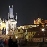 На Карловом мосту, Прага :: Михаил Лесин
