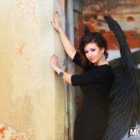 """""""Black Angel"""" :: Ирина Митрофанова студия Мона Лиза"""