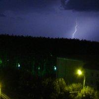 Ночная гроза в Уфе :: Виктор Куприянов