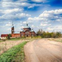 Сельский пейзаж. :: Александр Селезнев